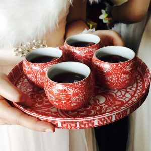 น้ำชาในพิธียกน้ำชา