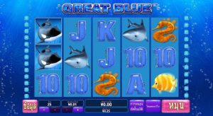 classic great blue slot gameplay